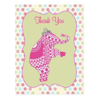 Princesa bonito Agradecimento Você Cartão do