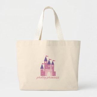Princesa bonito bolsas para compras