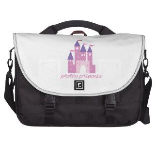 Princesa bonito bolsa para laptops