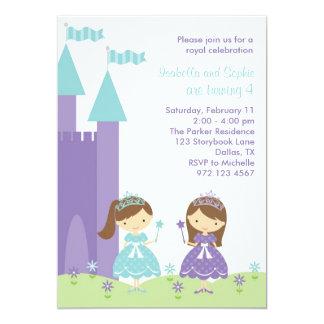 Princesa bonito Convite