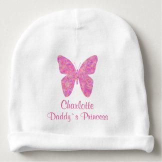 Princesa bonito Personalized Nome do ` s do pai da Gorro Para Bebê