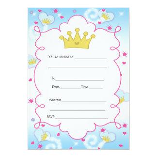 Princesa Borboleta Convite Enchimento