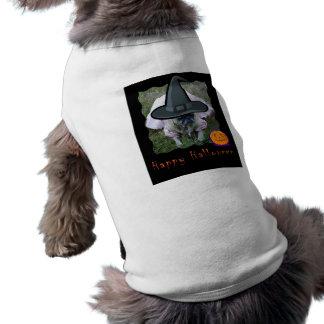 Princesa Bruxa o Dia das Bruxas Animal de estimaçã Camisas Para Cães