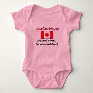 Princesa canadense bonita tshirt