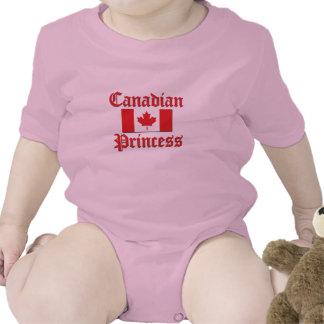 Princesa canadense macacão