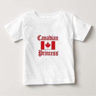 Princesa canadense camisetas