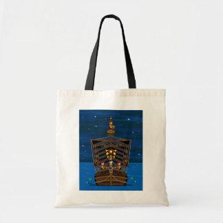 Princesa & cavaleiros na sacola medieval do navio bolsa