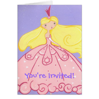 Princesa Convite