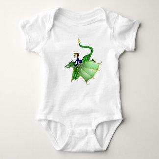 Princesa Criança Camisa do dragão, 6-24 meses
