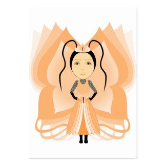 Princesa da borboleta de Andesine Cartões De Visita