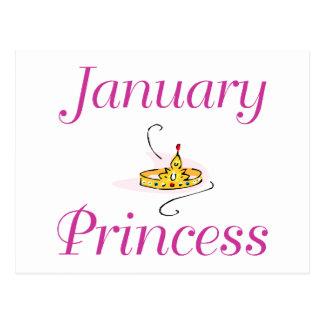 Princesa de janeiro cartão postal