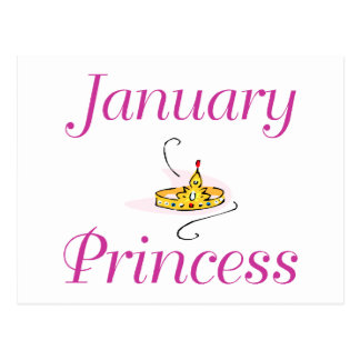 Princesa de janeiro cartões postais