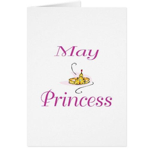 Princesa de maio cartões