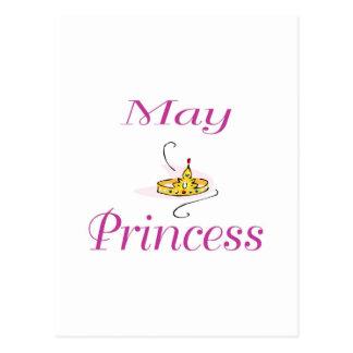 Princesa de maio cartao postal
