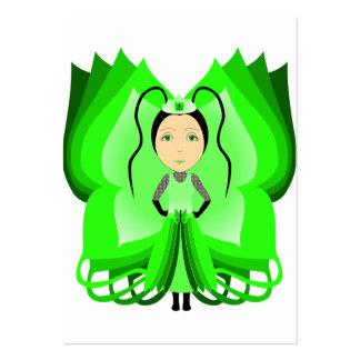 Princesa Diopside da borboleta Cartões De Visita