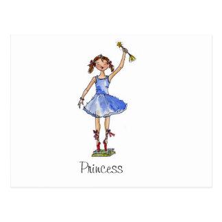 Princesa do balé cartão postal