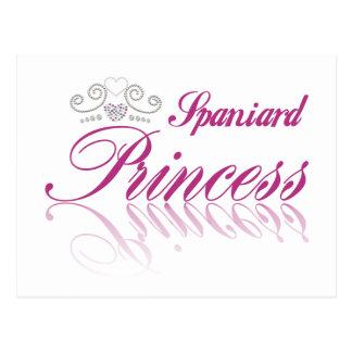 Princesa do espanhol cartões postais