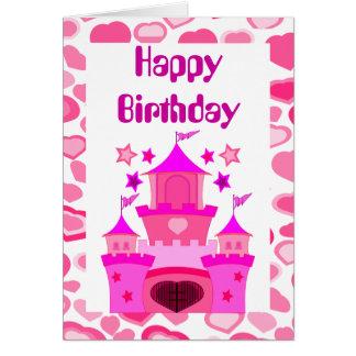 princesa do feliz aniversario aniversário cartões