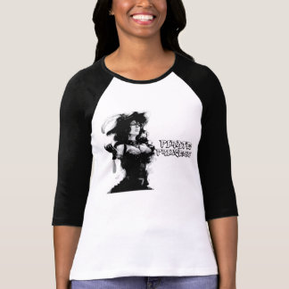 Princesa do pirata tshirt