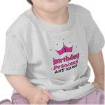 Princesa do primeiro aniversario!  com coroa cor-d t-shirts