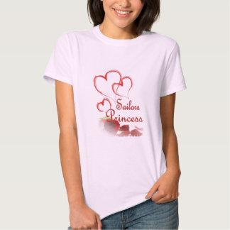 Princesa dos marinheiros t-shirts