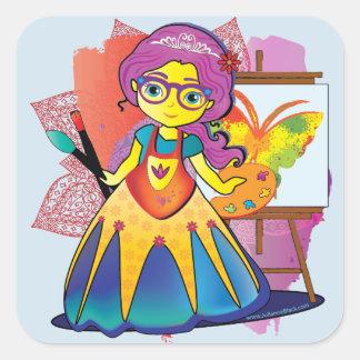 Princesa Etiqueta do artista
