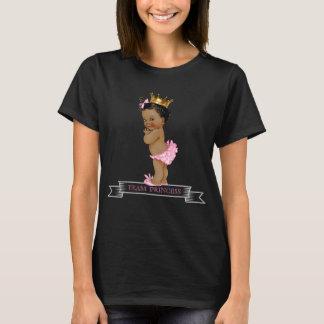 Princesa étnica Género Revelação Camiseta