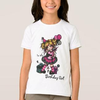 Princesa feericamente Camisa do impressão da zebra