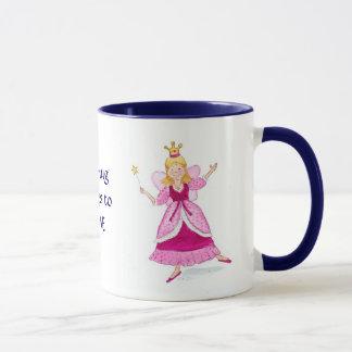 Princesa feericamente Caneca a personalizar