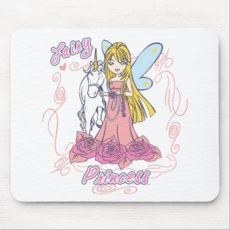 Princesa feericamente Criança Bebê Mouse Pad