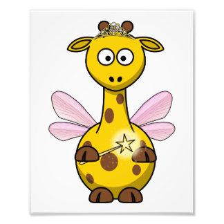 Princesa feericamente Girafa Foto Artes
