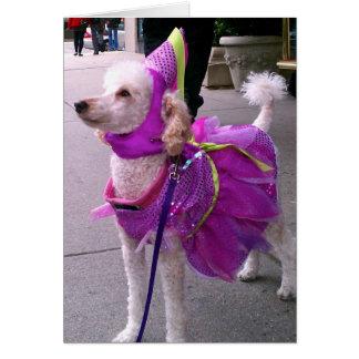 Princesa Filhote de cachorro Cartão Comemorativo