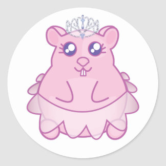 Princesa Hamster Etiqueta