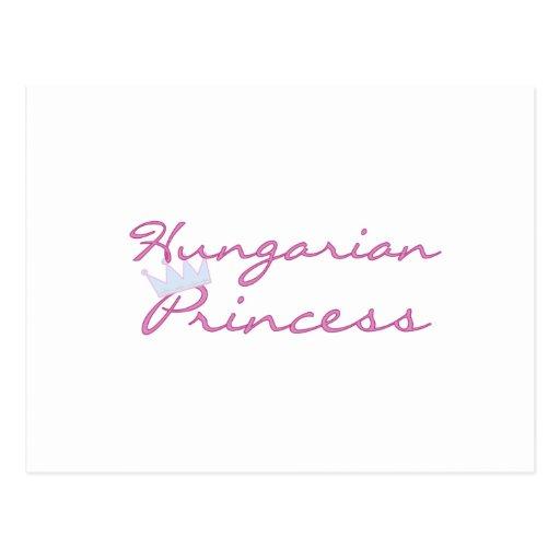 Princesa húngara cartao postal