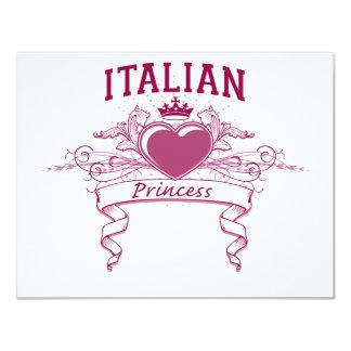 Princesa italiana convite