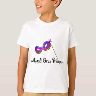 Princesa Máscara do carnaval Camiseta