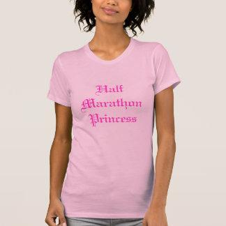Princesa meia maratona t-shirt