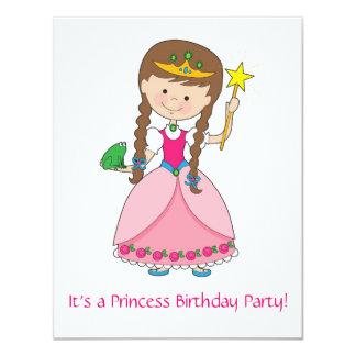 Princesa no estilo! convite 10.79 x 13.97cm