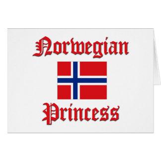 Princesa norueguesa cartoes