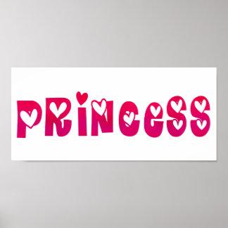 Princesa nos corações poster