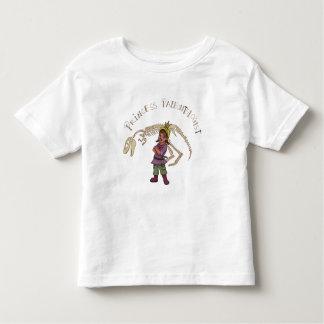 Princesa Paleontologist Camiseta Infantil