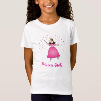 Princesa Personalized Menina Camisa da bailarina