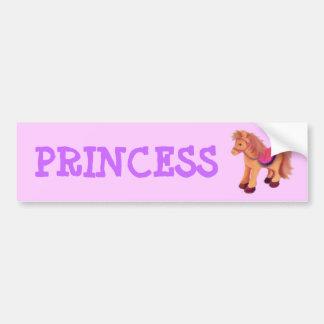 Princesa Pônei Adesivo Para Carro