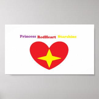 Princesa Redheart Starshine Poster