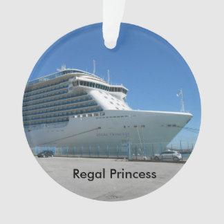 Princesa régia enfeites de natal