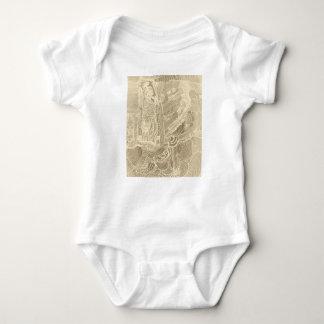 Princesa romana body para bebê