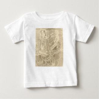 Princesa romana camiseta para bebê