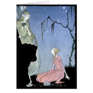 Princesa Rosette e fada Cartões