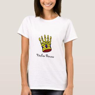 Princesa T-shirt da cozinha Camiseta