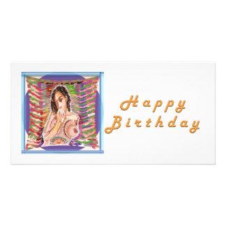 Princesa Tatiana T A T MIM A N A Cartão Com Foto